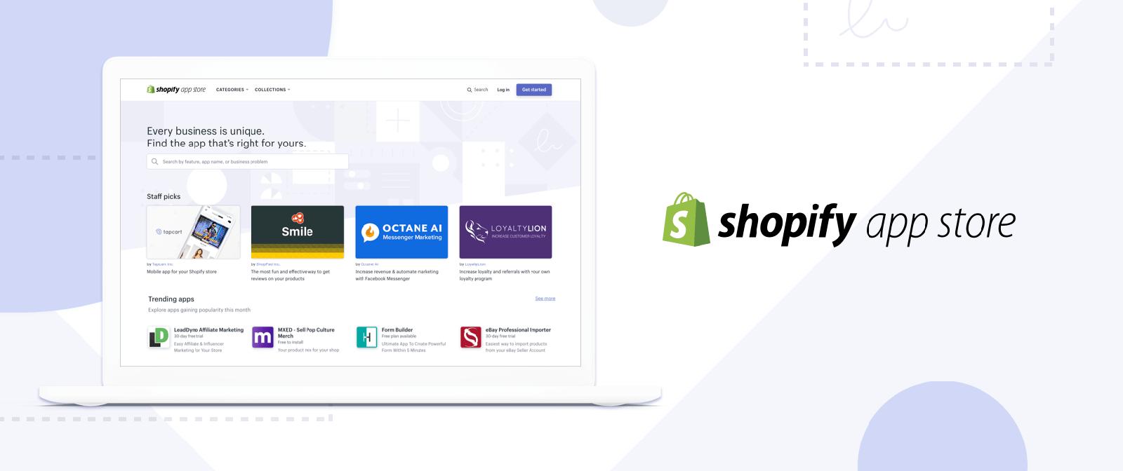 Shopify was ist das: Dazu gehört ein Ökosystem heme Store, App Store und der Shopify Community