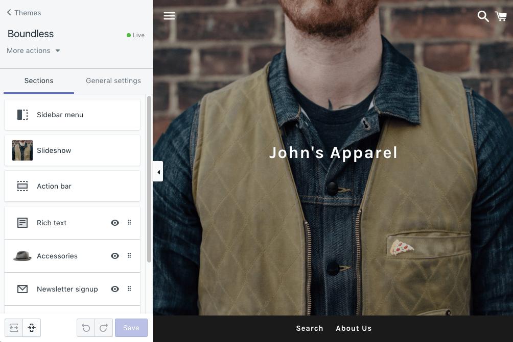 Die professionelle Storefront: Mit Shopify Vorteile nutzen